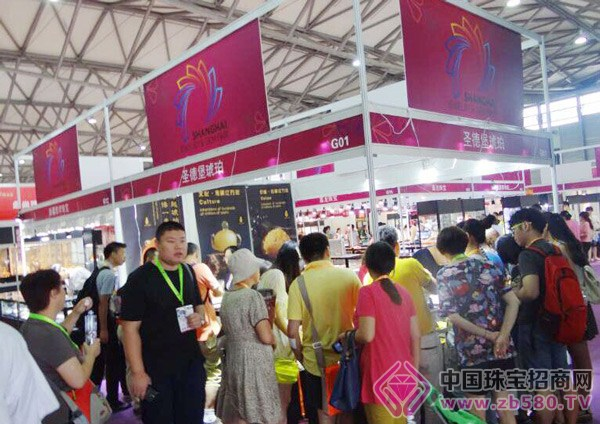 2015上海国际王者体育在线直播间首饰展览会盛大开幕